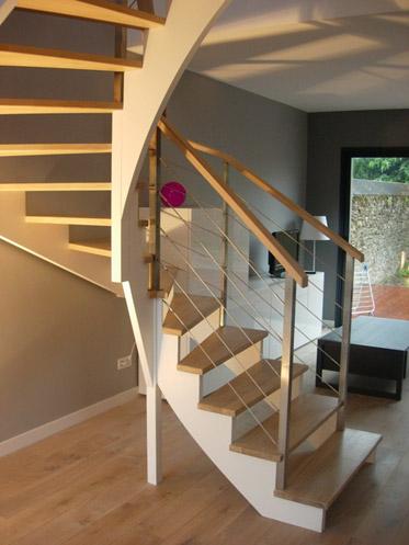 escalier new3. Black Bedroom Furniture Sets. Home Design Ideas